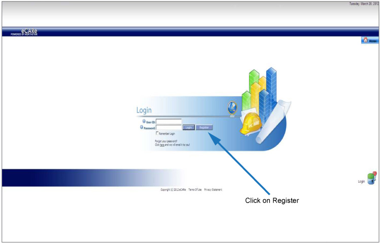 Ecare Registration Screen Shot Step 2
